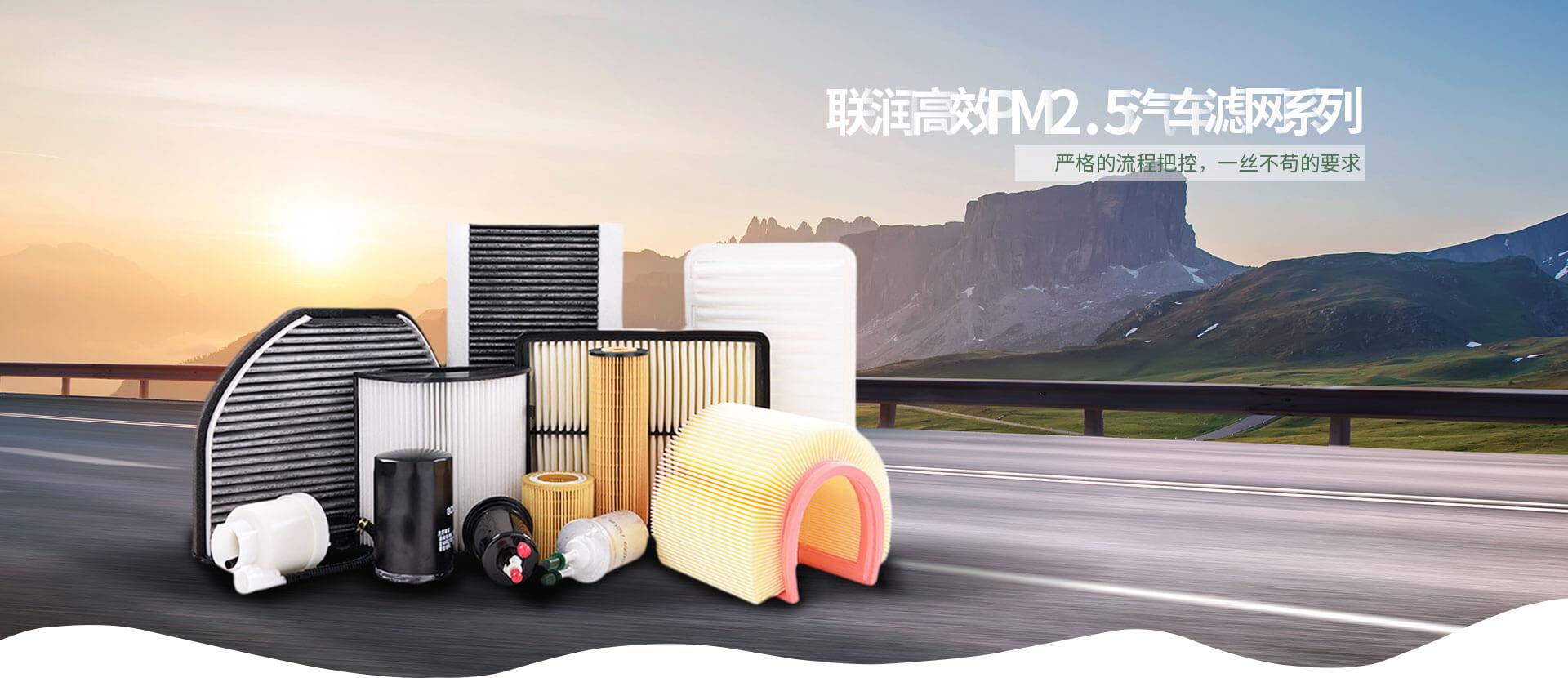 联润高效PM2.5汽车滤网系列